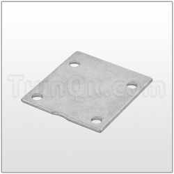 Plate (T96424) STAINLESS STEEL