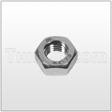 Hex nut (T6-400-37) STAINLESS STEEL