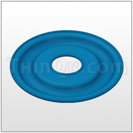 Diaphragm (T819.6601) SANTOPRENE